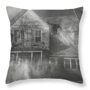 Dancing Ghosts Throw Pillow