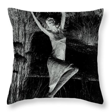 Dancing In The Garden Throw Pillow