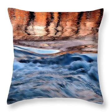 Dancing In The Mirror Throw Pillow