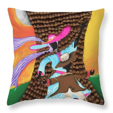 Dancing In The Son's Light Throw Pillow