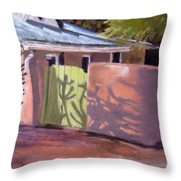 Dancing Shadows Throw Pillow by Julie Maas