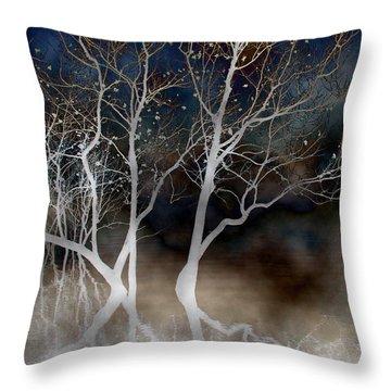 Dancing Tree Altered Throw Pillow