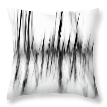 Throw Pillow featuring the photograph Dancing Trees by Darren White