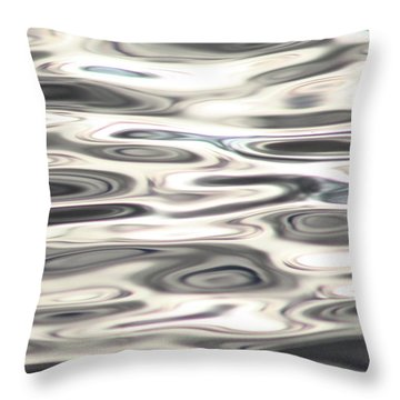 Dancing With Light Throw Pillow by Cathie Douglas