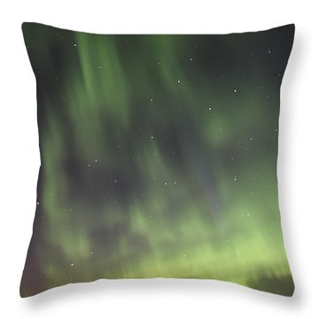 Throw Pillow featuring the photograph Dancing With The Dipper by Larry Ricker