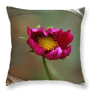 Dancing With Wind Throw Pillow