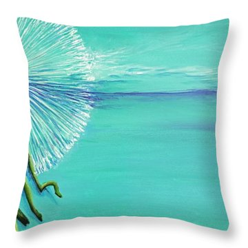Dandelion #2 Throw Pillow
