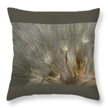 Dandelion 3 Throw Pillow