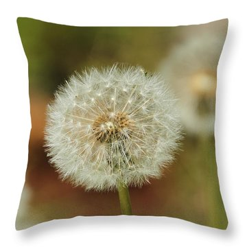 Just Blow To Tell The Time Throw Pillow