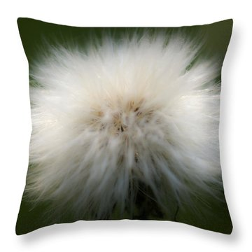 Dandelion Throw Pillow by Svetlana Sewell