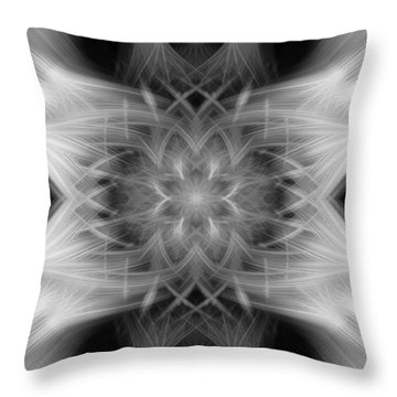 Dandelion Up Close Throw Pillow