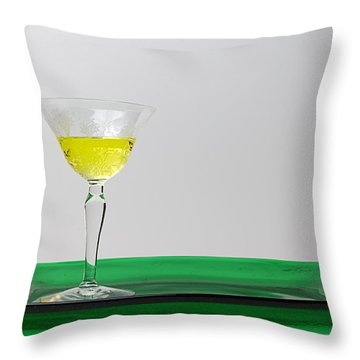 Throw Pillow featuring the photograph Dandelion Wine by Susan Capuano