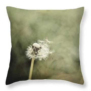 Dandelion  #lensbaby #composerpro Throw Pillow