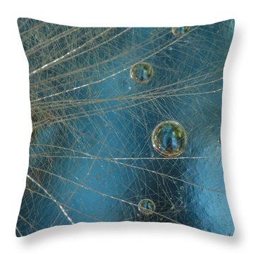 Dandy Drops Throw Pillow