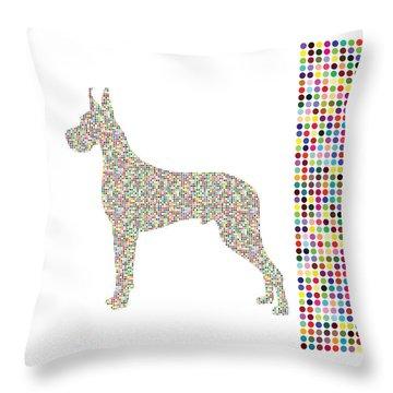 Dane Dots Throw Pillow