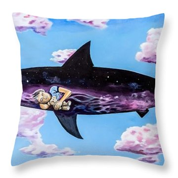 Dangerous Child Throw Pillow