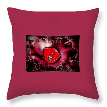 Dangerous Passion Throw Pillow