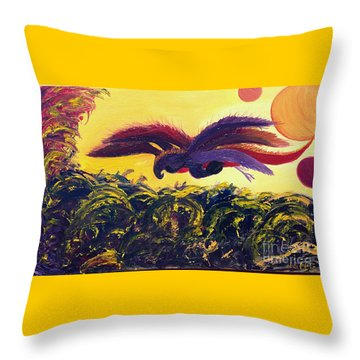 Dangerous Waters Throw Pillow