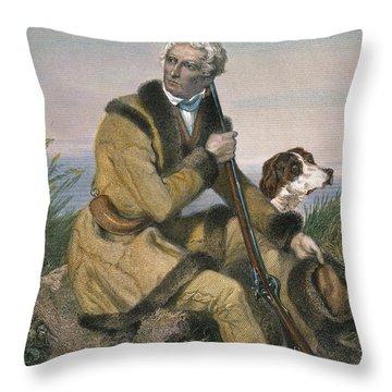Daniel Boone (1734-1820) Throw Pillow by Granger