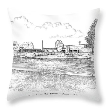 Daniel Hs Throw Pillow