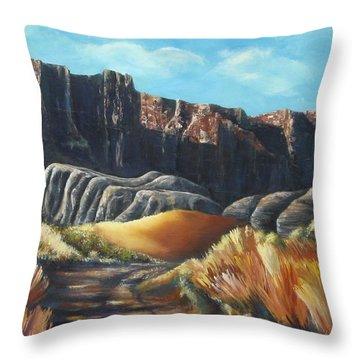 Daniel Lawrence Throw Pillow by Melody Horton Karandjeff