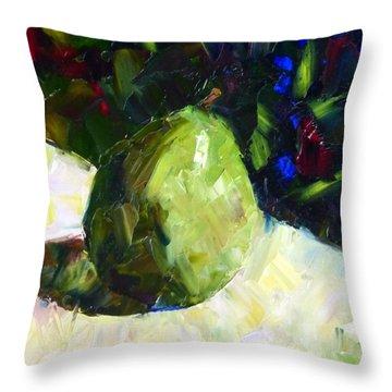 D'anjou #3 Throw Pillow