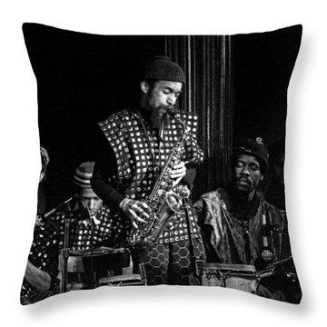 Danny Davis With Sun Ra Arkestra Throw Pillow