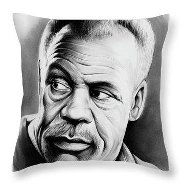 Danny Glover Throw Pillow