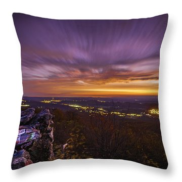 Dan's Rock Throw Pillow