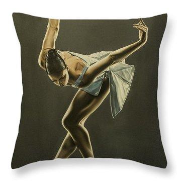 Danzatrice Throw Pillow