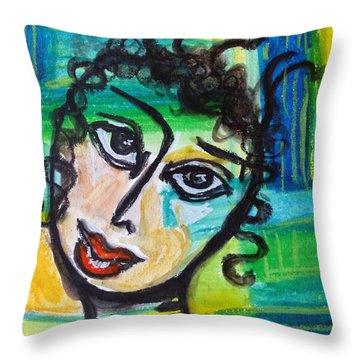 Daphne - Vivid Vixen 4 Throw Pillow