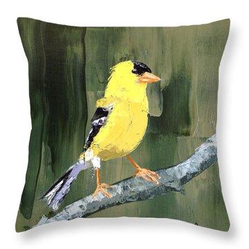 Dapper Fellow Throw Pillow
