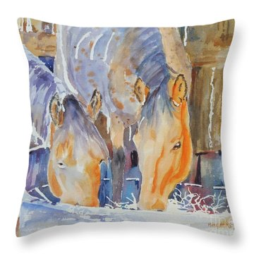 Dappled Sunlight Throw Pillow