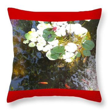 Dappled Tranquility  Throw Pillow