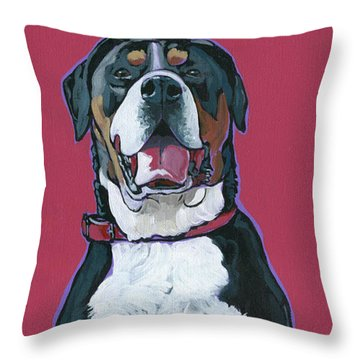 Darby Throw Pillow by Nadi Spencer