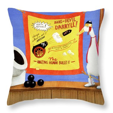 Dare-devil, The Throw Pillow