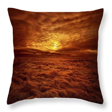 Throw Pillow featuring the photograph Dare I Hope by Phil Koch