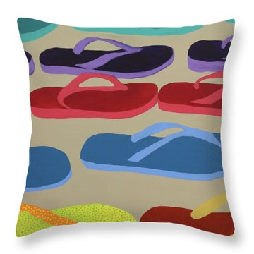 Dare To Be Different Throw Pillow