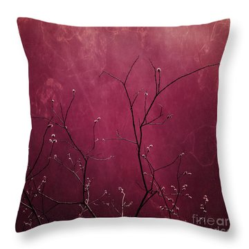 Daring Pink Throw Pillow