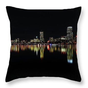 Dark As Night Throw Pillow