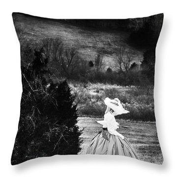 Dark Beauty Throw Pillow