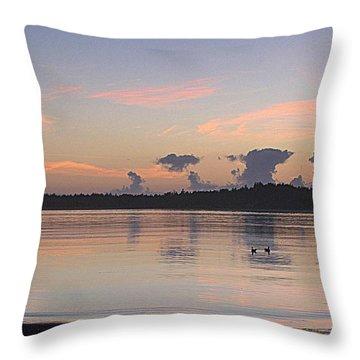 Dark Cloud Dance Throw Pillow