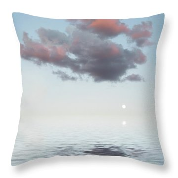 Dark Cloud Throw Pillow by Jerry McElroy