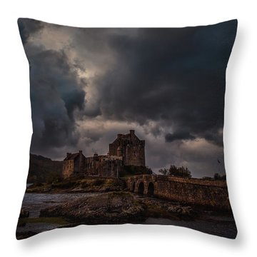 Dark Clouds #h2 Throw Pillow