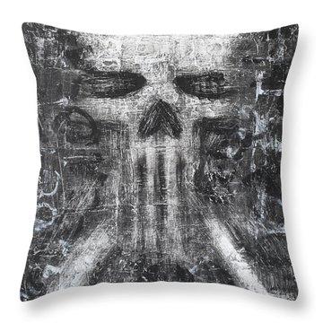 Dark Departure Throw Pillow by Roseanne Jones