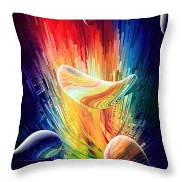 Dark Dreams By Nico Bielow Throw Pillow