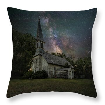 Throw Pillow featuring the photograph Dark Enchantment  by Aaron J Groen