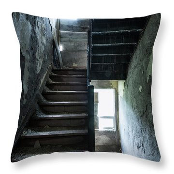 Dark Intervals Throw Pillow
