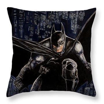 Dark Knight Throw Pillow
