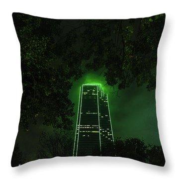 Dark Matter Throw Pillow
